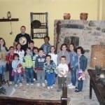 Foto de grupo en el Museo Etnográfico de Grao